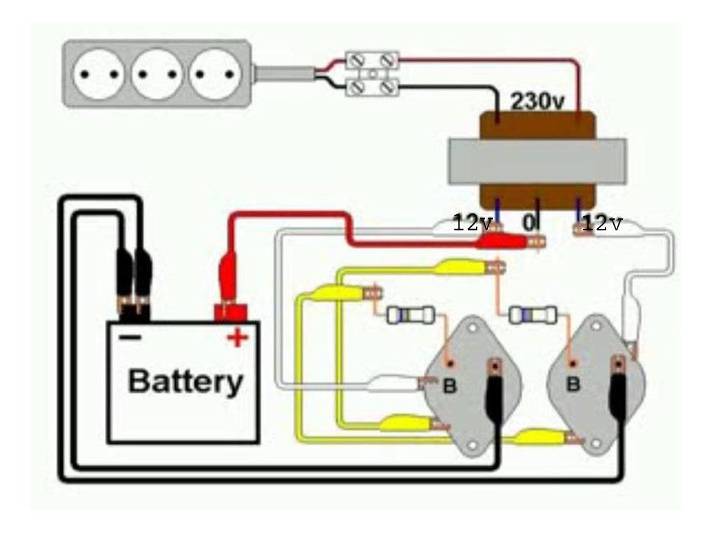 Rangkaian Sederhana Inverter 12v Dc 220v Ac Basing